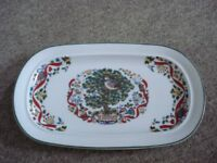 royal worcester twelve days of christmas sandwich plate
