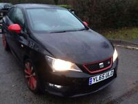 65 PLATE SEAT IBIZA FR RED / BLACK EDITION CAT D 6,000 MILES / NEW CONDITION INSIDE AND OUT