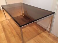 High Value Glass Coffee Table for Sale - Item Location Canary Wharf