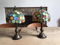 Tiffany style desk lamps
