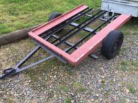 Motorbike trailer (4x4 van pit bike no swaps buggy quad tractor