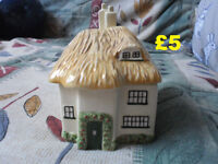 Mark & Spencers Ceramic Thatched Cottage