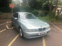 BMW 5 SERIES 520I 2.2 PETROL MANUAL NEW MOT WITH FULL SERVICE HISTROY