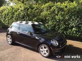 A high specification, low mileage Mini One. Ideal first car with 1.4L engine. All black sports model