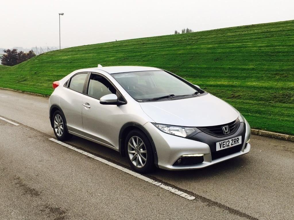 2012 Honda Civic 22 I DTEC Hatchback 5dr Diesel SilverONE COMPANY OWNER