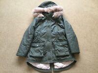 AGE 10/11 WINTER COAT