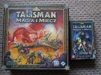 Board game Magia i Miecz wersja PL + dodatek Zniwiarz, Magic and Might polish edition + expansion