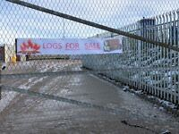 Logs for sale at Pools Tools in Hartlepool. The logs range from rubble to a tonne dumpy bag. POA