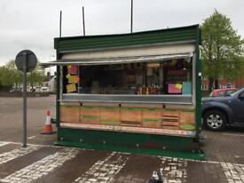 Catering trailer Burger van food van