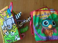 Soft textured baby books