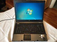 "HP COMPAQ LAPTOP - 8510W INTEL CORE2DUO, NVIDIA GRAPHICS, 120GB HDD, 4GB RAM, 1920x1200 15.4"" SCREEN"