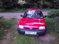 Nissan Micra (Miss Yum)1997 998cc