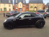 MINI COUPE S DIESEL LOW MILES 37K SAT NAV BLUETOOTH 2 KEYS PX WELCOME NATIONWIDE DELIVERY