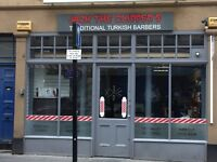Barber shop in Newcastle city centre for sale