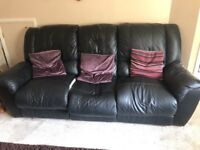 Reclining Sofa x 2 and armchair