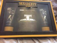 Sex in the city kiss gift set