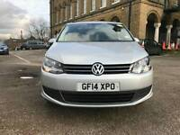 PCO Bluemotion 2014 Volkswagen Sharan Automatic Low Mileage Quick Sale