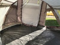Outwell Nevada XL tent with footprint groundsheet and carpet Only used once