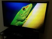 "SHARP 32"" FHD LED TV - Digital Freeview - USB - PC - 2 x HDMI - Scart - S-Video - Bargain RRP £289"