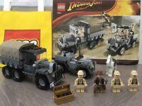 LEGO 7622 Indiana Jones - Race for the Stolen Treasure - Raiders of the lost Ark