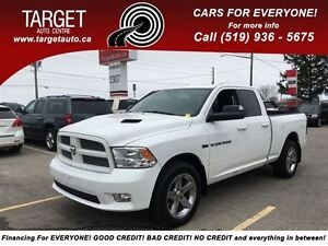 2012 Ram 1500 Sport, Leather, Roof, Great Truck  !!!