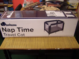 Babanu Nap Time Travel Cot Brand New in Box