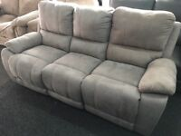 New/Ex Display LazyBoy Whitby 3 Seater Recliner Sofa