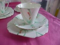 Vintage Trios Cup Saucer Plate Ideal For Weddings Afternoon Teas etc