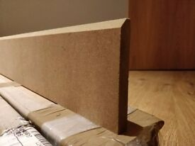 Skirting boards, moisture resistant MDF