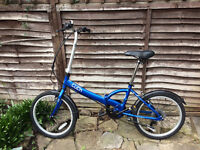 Apollo Tuck Folding Bike - Good As New! (Collection Only)