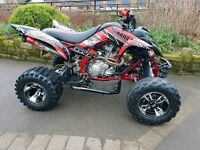Yamaha raptor 700 fully loaded mint condition