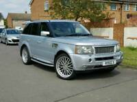 "Range Rover Sport 22""alloys+Xenon+Twin exhaust+hpi clear+Tinted"