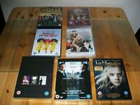 Joblot of 7 Dvd's. Two box sets and five single. 5 New & sealed. 2 watched once.