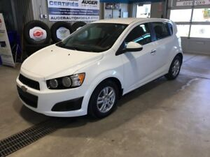 2012 CHEVROLET SONIC 5 LT AUTOMATIQUE