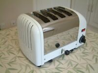 Dualit toaster - up to 4 slices at a time! - the Rolls-Royce of toasters - near-new condition