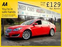 VAUXHALL INSIGNIA 2.0 DESIGN CDTI ECOFLEX S/S 5d 138 BHP Apply for finance Online today! (red) 2014