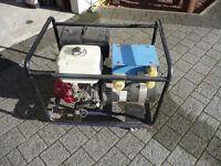 Honda GX 390 13 hp generator, 7.5 KVA,