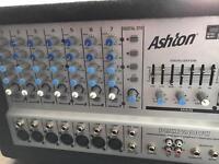 Ashton 200w powered mixer