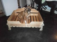 dog bed bunk hand made