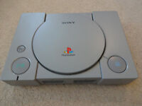Original Sony PS1 - Playstation One Games Console - PS 1