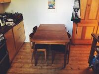 Nathan Ercol Reproduction Extendable Table and Chairs
