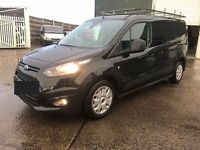 2014 BLACK FORD TRANSIT CONNECT 240