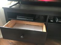 Wooden TV table in excellent condition