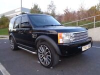 2007 LAND ROVER DISCOVERY3 2.7 MANUAL DIESEL, 22 INCH ALLOYS ,SIDE STEPS, 3 MONTHS WARRANTY