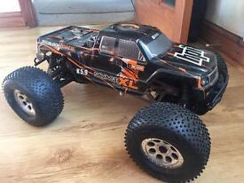 Hpi savage XL nitro rc truck 5.9 rotostart