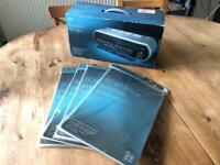 M&S Paper Laminator. New in box, Never opened, with 200 new A4 pouches