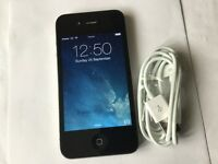 iPhone 4 8GB BLACK ( EE, ORANGE, T. MOBILE AND VIRGIN)
