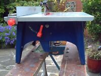 Table Saw in Excellent Condition Very Clean Hardly Used