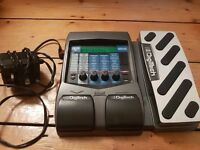 Digitech RP200 multi FX pedal + power supply