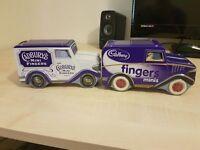 Two Cadbury Tins